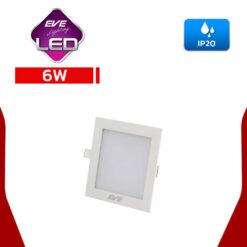 ดาวน์ไลท์ LED สี่เหลี่ยม 6w (วอร์มไวท์) EVE