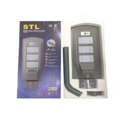 โคมไฟถนนโซล่าเซลล์ 50W SSL50 (วอร์มไวท์)