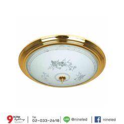 โคมไฟเพดาน-32w-ทองแก้ว-C3-2