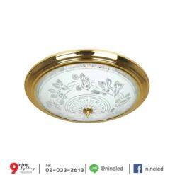 โคมไฟเพดาน-32w-ทองแก้ว-C5