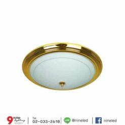 โคมไฟเพดาน-32w-ทองแก้ว-C6