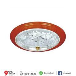 โคมไฟเพดาน-32w-ลายไม้แก้ว-C2-1