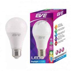 หลอดไฟ LED A60 9w EVE ขั่วE27