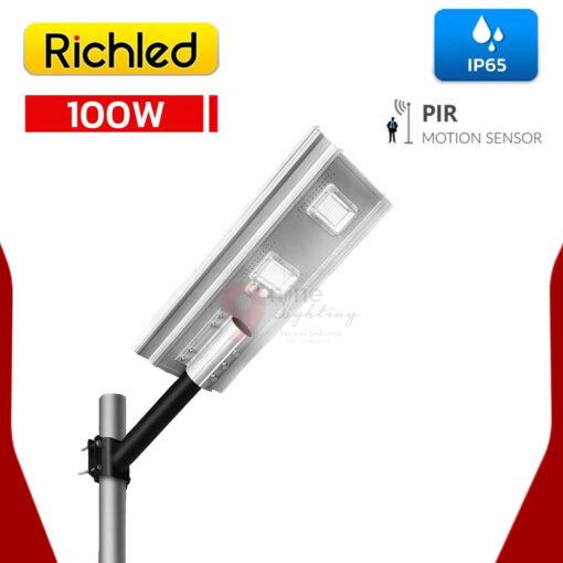 โคมไฟถนนโซล่าเซลล์ LED 100W RICHLED RICH-A200