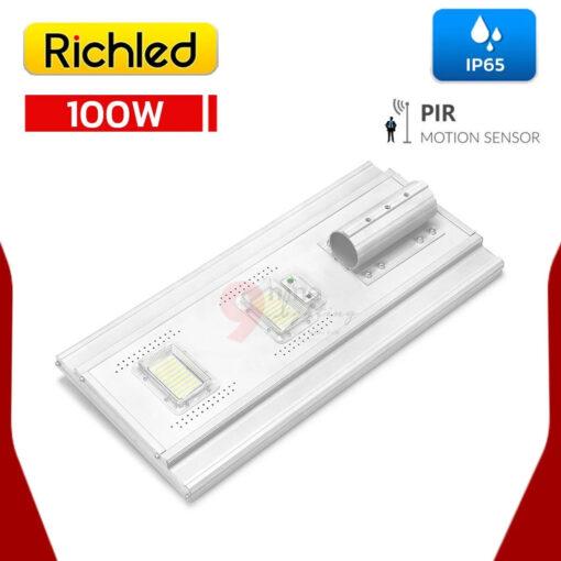 หลัง โคมไฟถนนโซล่าเซลล์ LED 100W RICHLED RICH-A200