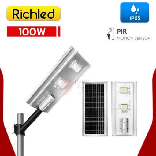 โคมไฟถนน Solar Cell LED 100W RICHLED RICH-A200