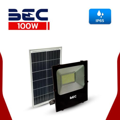 สปอร์ตไลท์โซล่าเซลล์ LED 100W BEC รุ่น CHEETAH