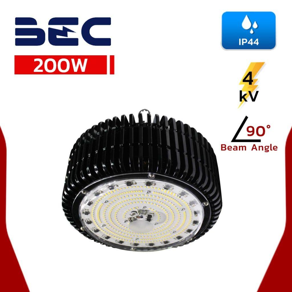 โคมไฮเบย์ LED 200W BEC EARTH