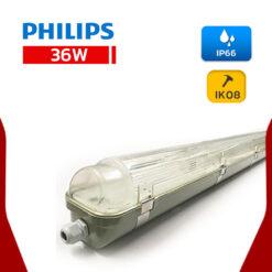 โคมกันน้ำกันฝุ่น 36W TCW097 1x36W Philips