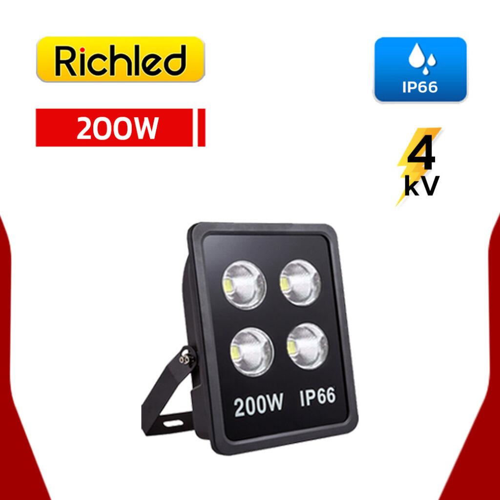 สปอร์ตไลท์ LED 200W RICHLED COB II