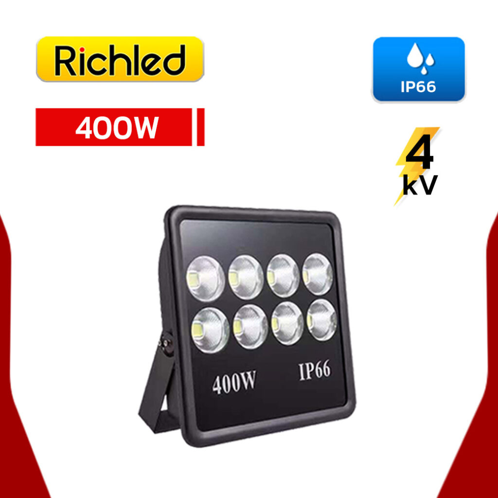 สปอร์ตไลท์-LED-400W-RICHLED-COB-II