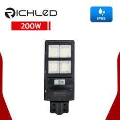 โคมไฟถนนโซล่าเซลล์-LED-200W-RICHLED-SUNLIGHT