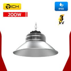 โคมไฮเบย์ LED 200W RICH SHARK